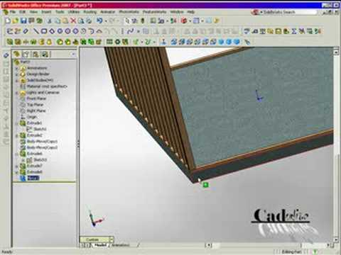 Storage Shed using Solidworks Part 3 of 4