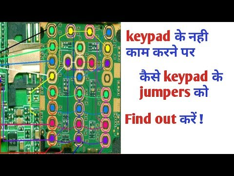 Lemon A115 keypad not working solution with help of jumper   Explain in hindi