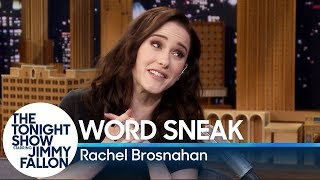 Word Sneak with Rachel Brosnahan