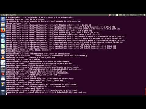 Instalación de Apache2 - Php - Mysql - Phpmyadmin en Ubuntu 14.04