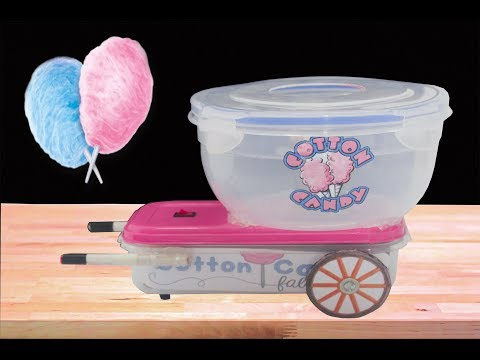 How to Make Cotton Candy Machine at home