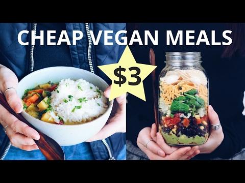 CHEAP VEGAN MEALS (UNDER $3)