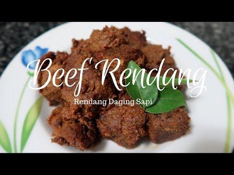 INDONESIAN BEEF RENDANG RENDANG SAPI