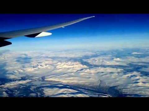 The POLAR Flying Route : QATAR Airways DOHA to Noth America