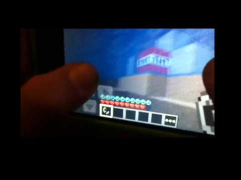 Minecraft pe survival TNT explosion