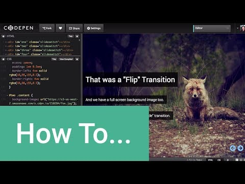 """Create a """"PowerPoint"""" Like Presentation Using Pure CSS3"""