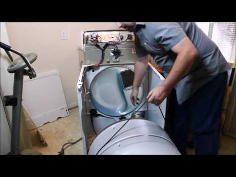 How to Remove & Install the Belt 661570 or 661570V on Kenmore 90 or Elite Dryer