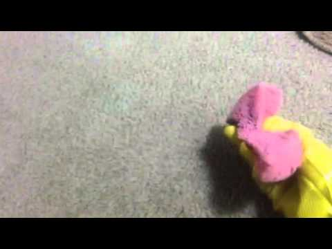 Fast and easiest way to clean hair from carpet