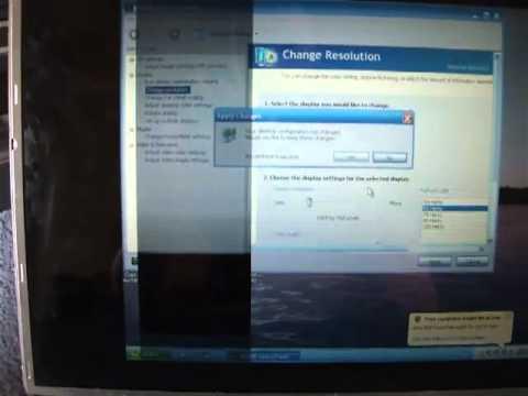 Toshiba Satellite Laptop Screen Problem - flickering