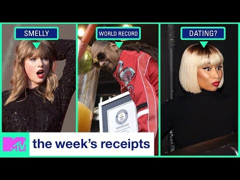 Taylor Swift Needs A Shower, Nicki Minaj + Eminem Dating Rumors & More | The Week's Receipts | MTV