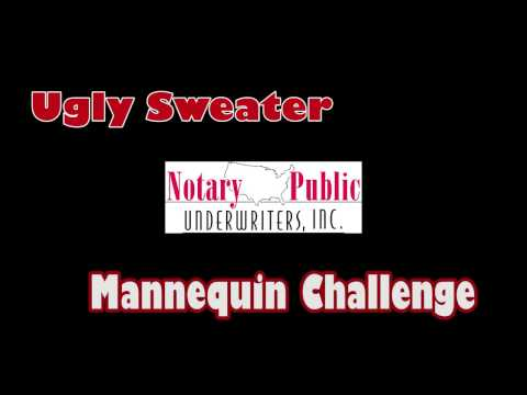 Ugly Sweater Mannequin Challenge