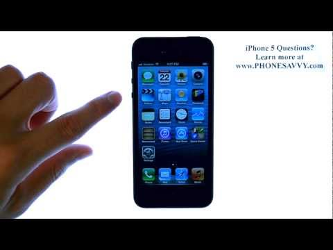 Apple iPhone 5 - iOS 6 - How do I Adjust Ringtone Volume