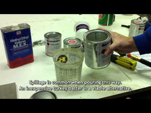 Amperseal Concrete Countertop Sealer HVLP Spray Application