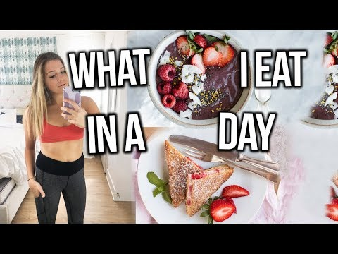 What I Eat In A Day (healthy)