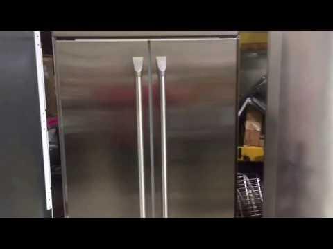 GE  Monogram Fridge Cleaning