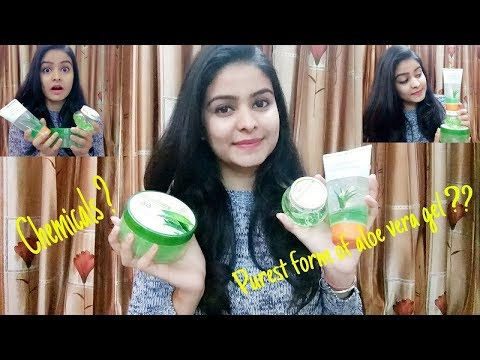 Best Aloe Vera Gels in market   FaceShop   Patanjali   Green Leaf