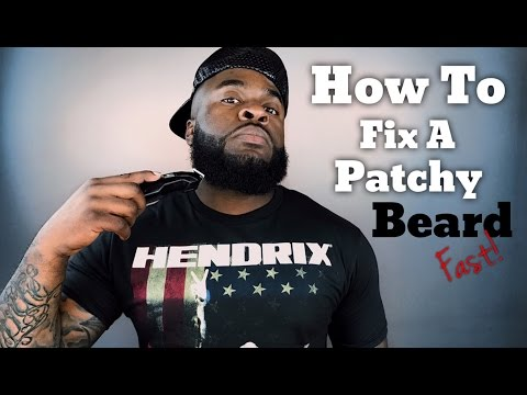 Quick and Easy Beard Growth Tips | Easy DIY How to Fix a Patchy Beard Fast Tutorial