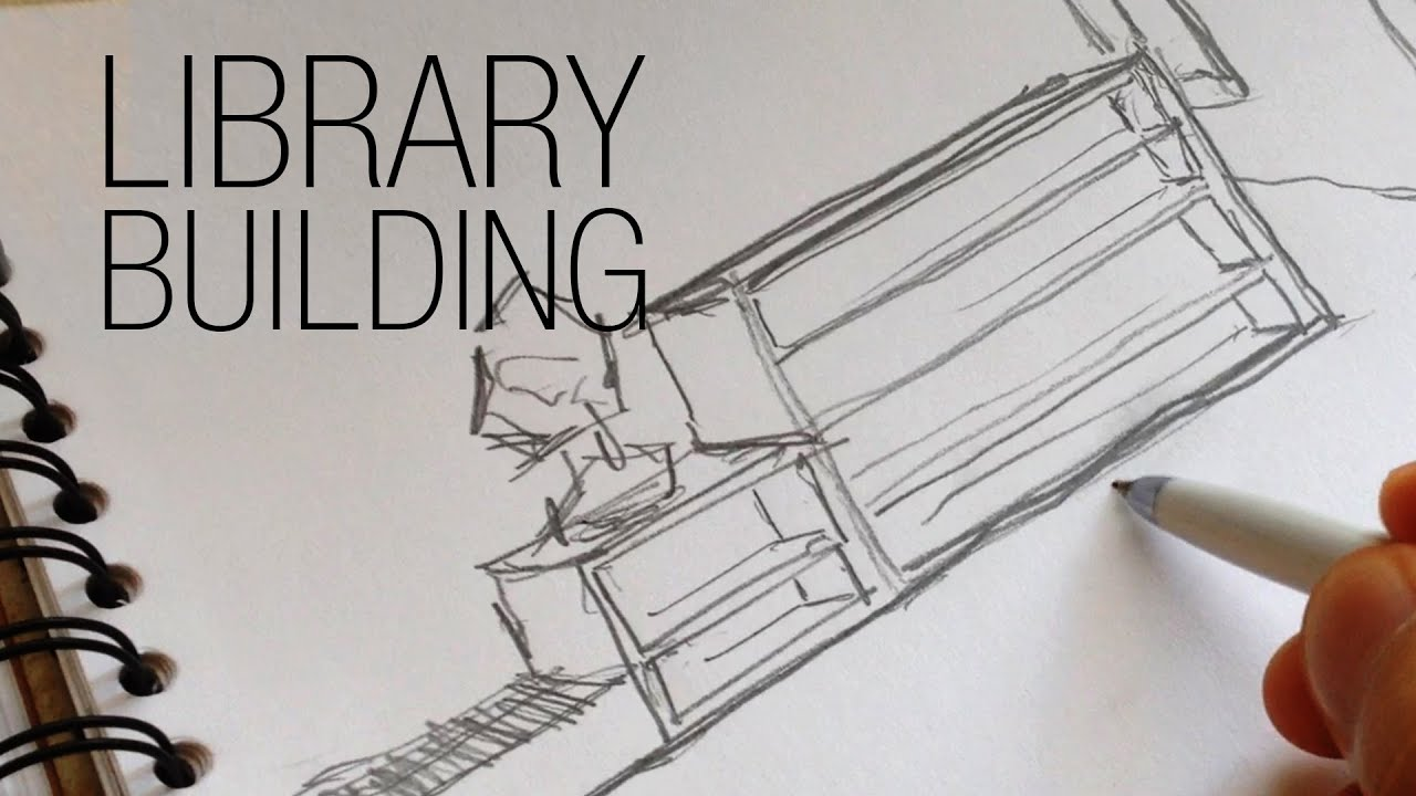 LIBRARY BUILDING ¦ ARCHITECTURAL DESIGN