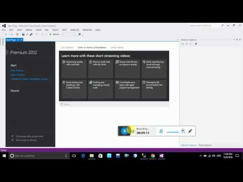 How to Install Visual Studio 2012 in window 10,7,8 with Example