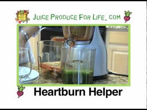 Heartburn Helper Fresh Juice from Juice Produce For Life