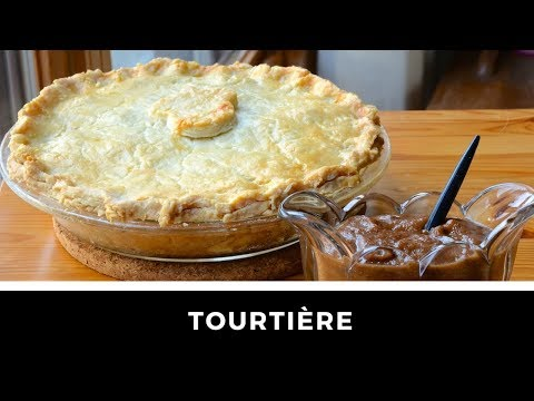 TOURTIÈRE - Meat Pie Recipe!