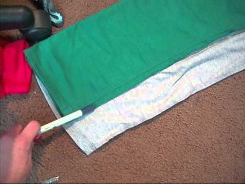 DIY: Skinny Sweats (how to make baggy sweatpants tighter)
