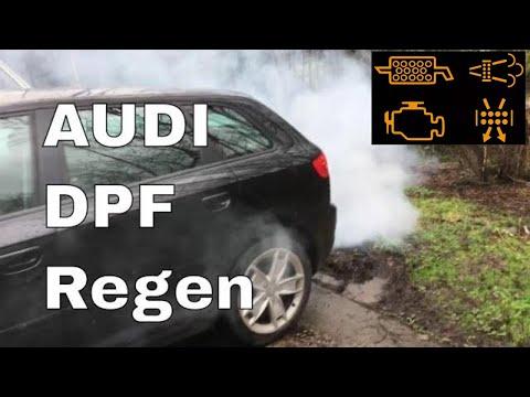 Audi A3 TDi getting a DPF Regen regeneration Blocked Audi DPF Regen Forced with EOBD software