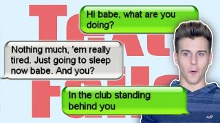 Reacting To The Funniest Texts!