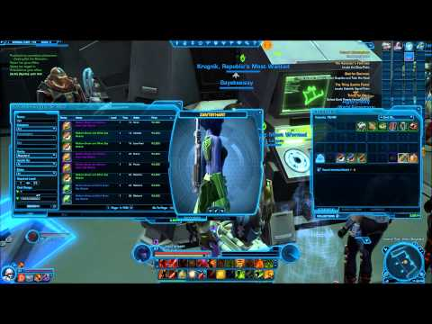 I Suck Playing~SWtor~Operative Medic Tree, Creat a chat box, Dyes, and A BIG BONE!!