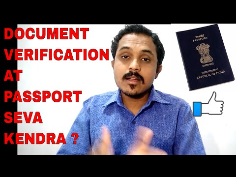 HOW DOCUMENT'S GET VERIFIED AT PASSPORT SEVA KENDRA? FULL INFORMATION IN DETAIL!! (HINDI)