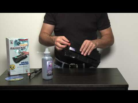 Toner refill kit for Samsung toner cartridges - how to refill Samsung using toner refills