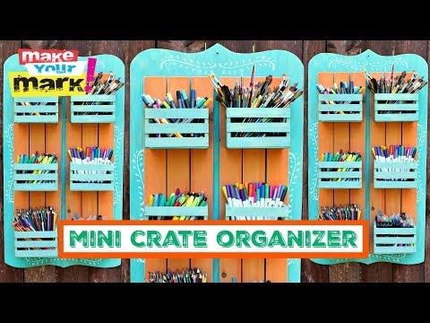 Mini Crate Organizer