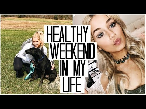 *Healthy* Weekend in my Life   stRIDE Meetings, Sunday Workouts, & Mall Trips