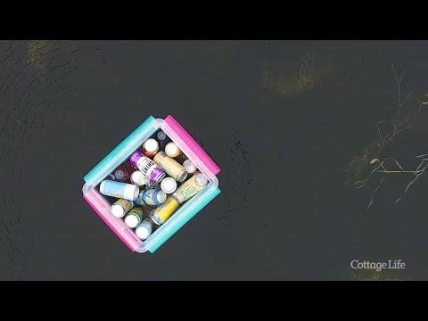 DIY Floating Cooler