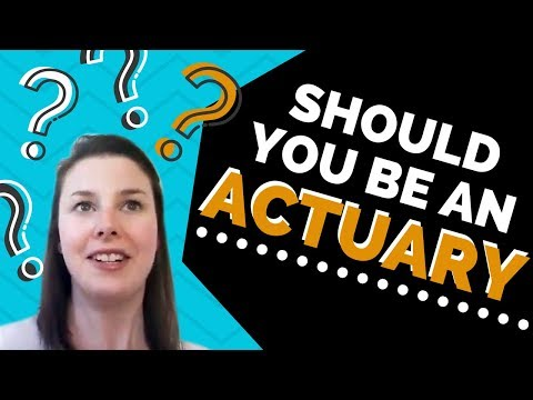 Should you be an actuary? (The why YES and the why NO)