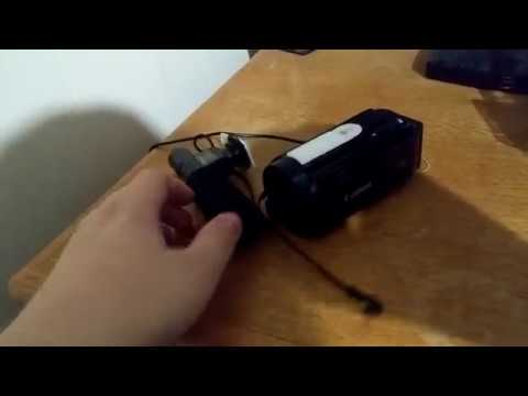 How to Attach a Shotgun Mic to a Regular Camcorder