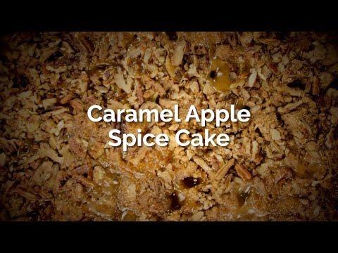 Caramel Apple Spice Cake ♨️ Saladmaster Sizzler