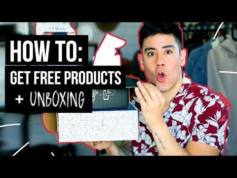 HOW TO GET FREE PRODUCTS (for SOCIAL MEDIA) + UNBOXING VOXBOX | JAIRWOO