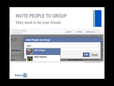 How to Create a Facebook Group