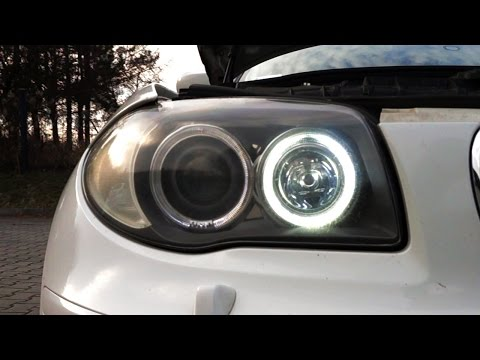 Don't use those H8 LED bulbs for BMW halo rings