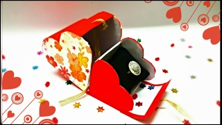 Heart Shaped Cardboard box with Lid    Valentine Gift Box    Gift boxes Ideas    Cheap gift boxes