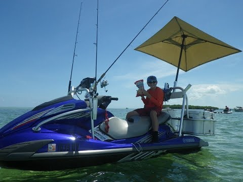 HOW TO setup rig YAMAHA VX WaveRunner for fishing