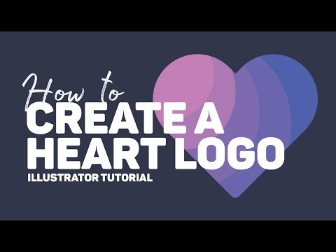 How to create a Heart in Illustrator | Logo Design