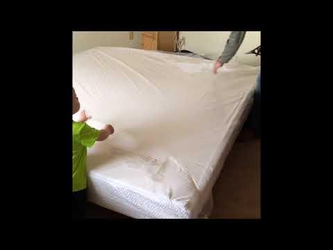 "lucid 10"" plush gel memory foam king mattress"