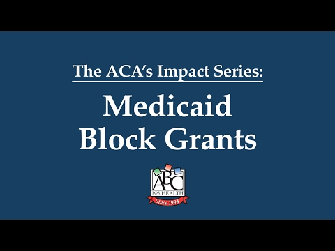 Medicaid Block Grants Explained | HealthWatch Wisconsin & ABC for Health