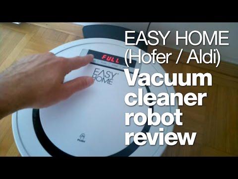 Hofer / Aldi vacuum cleaner robot review