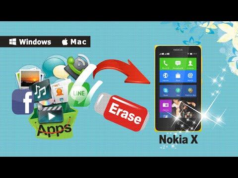 How to Erase & Clean Up All Data from Nokia X/Nokia XL/Nokia X+/Nokia X2 Permanently