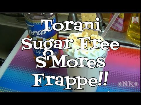 S'Mores Frappe!  Torani Friday!  Noreen's Kitchen