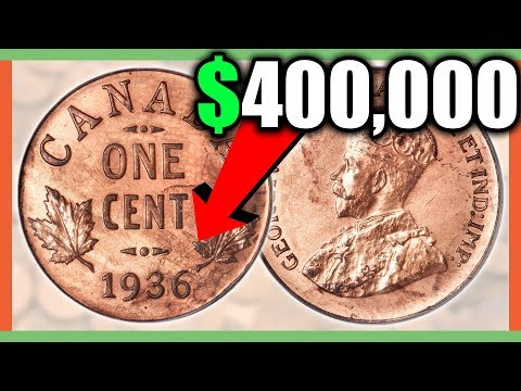 RARE CANADIAN PENNIES WORTH MONEY - VALUABLE COINS IN YOUR POCKET CHANGE!!