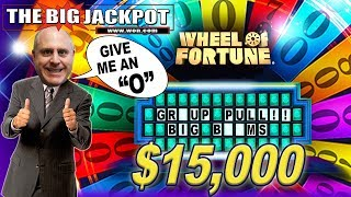 🎰$15,000 PATREON GROUP PULL on WHEEL of FORTUNE! 🎰BIG WIN$
